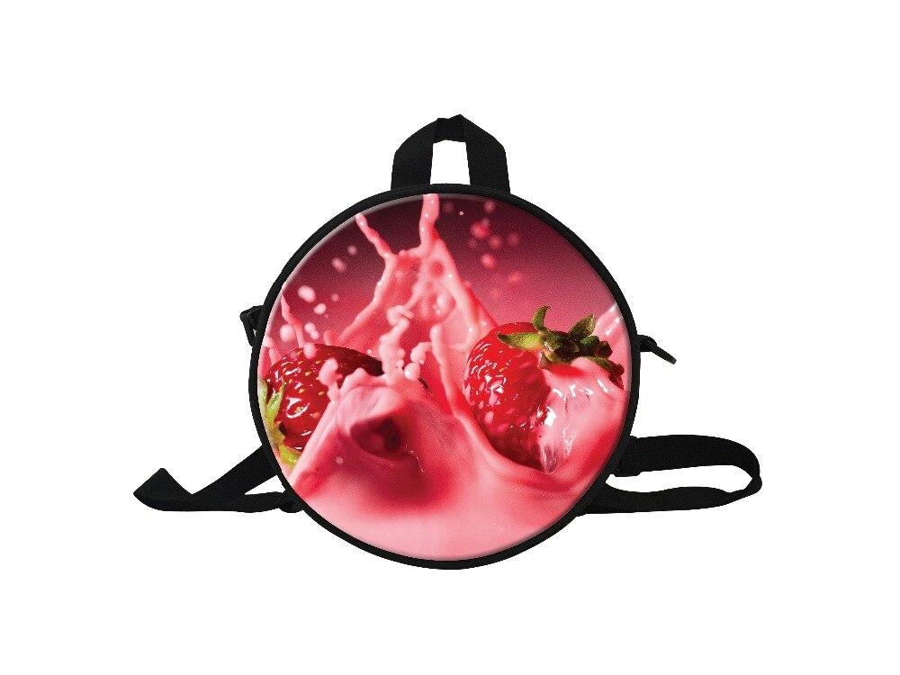 Принт с фруктами маленький рюкзак детский сад для девочек Дети Маленькие Мини рюкзаков, персонализированные детский сад мешок для путешест...