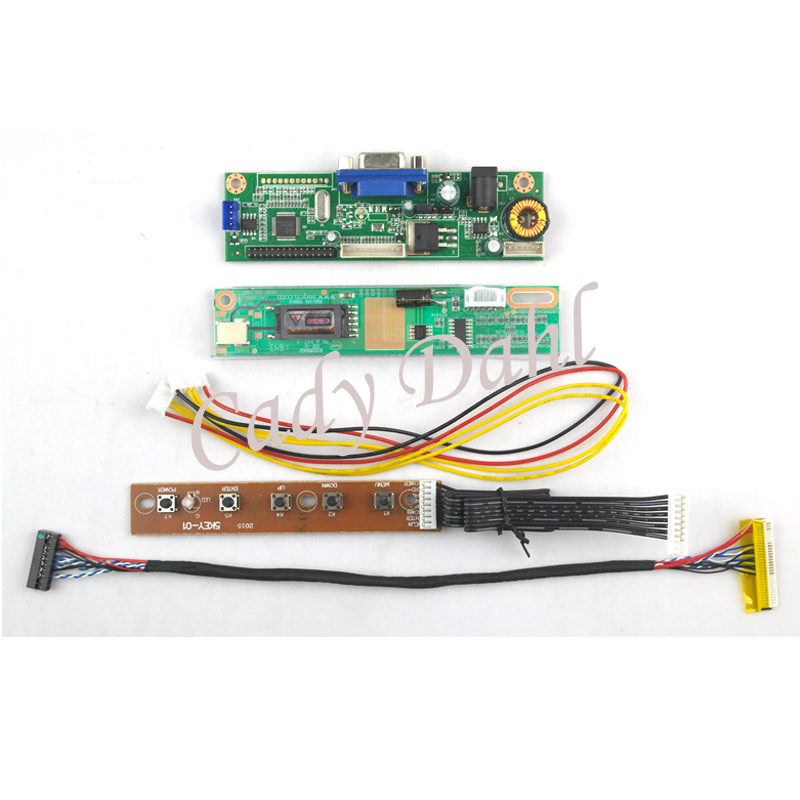 Board-Module Inverter Controller Lvds-Cable LP154W01 Lcd-Display VGA For B154EW01 Lp154w01/Ltn154x3/Ltn154at07/..