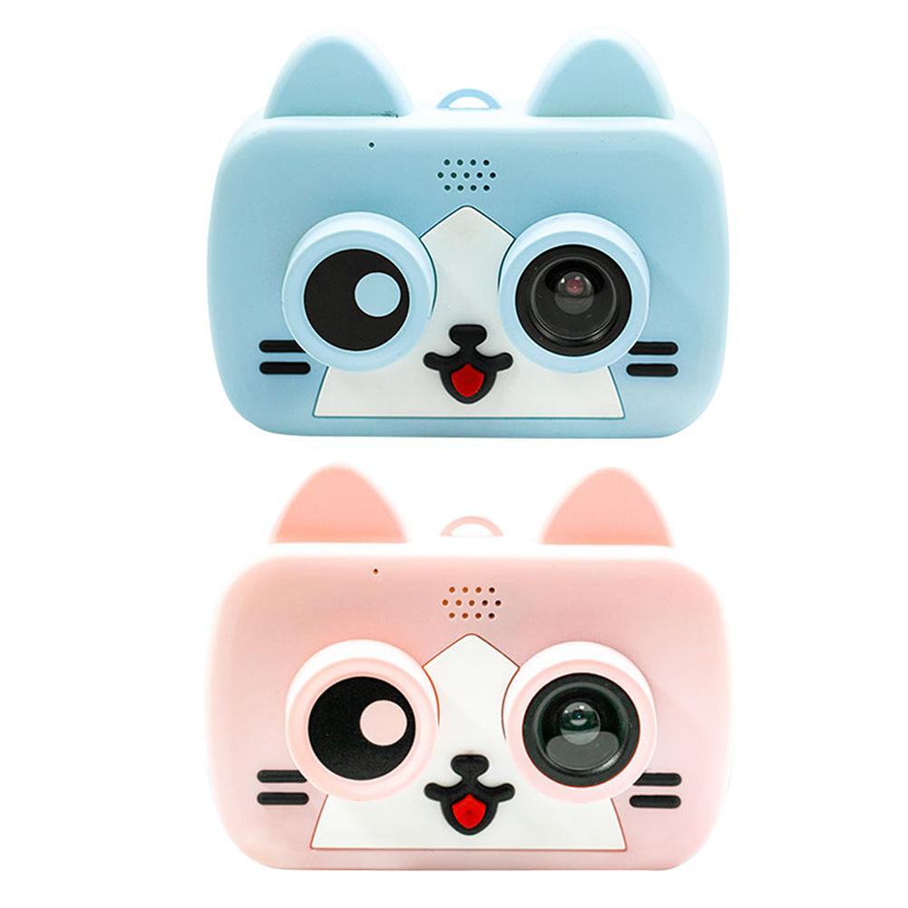 Ultra-mini Smart Children's Camera IPS 1080P HD Kids Waterproof Digital Cameras 1200W 2-Inch Cartoon Camera Support WiFi TF Card