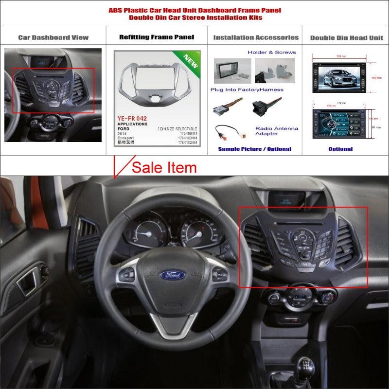 Liislee For Ford Ecosport 20102015 Car Stereo Radio Fascia Plate Rhaliexpress: 2000 Ford Focus Double Din Radio Installation Kits At Elf-jo.com