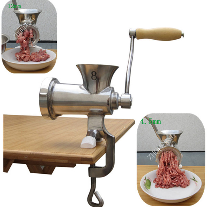 Multifunctional manual hand meat grinder mincer ZF цена
