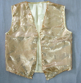 Niños chaleco de lentejuelas Familia equipada de tendencia chaleco Ningún botón chaleco Estudiante de Vestuario Teatral ropa chaleco danza jazz Dj etapa