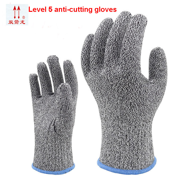 The new 2018 anti cut gloves gray level 5 cut proof gloves 400D di nima yarn safety gloves working 1 double/package europe and the authentic proof cut glove cut against blade puncture proof black cloth gloves gloves category 5 wire page 8