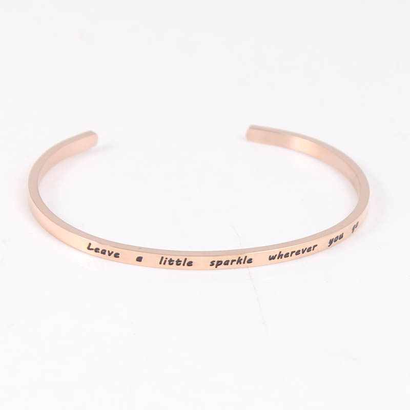 stamped dainty squared hand screenshot silver finish bracelet products initial birthstone ginger
