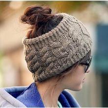 Стильные аксессуары для волос зимняя вязаная повязка на голову с цветочным бантом Женский Теплый головной убор Хип-поп стиль повязка-наушники