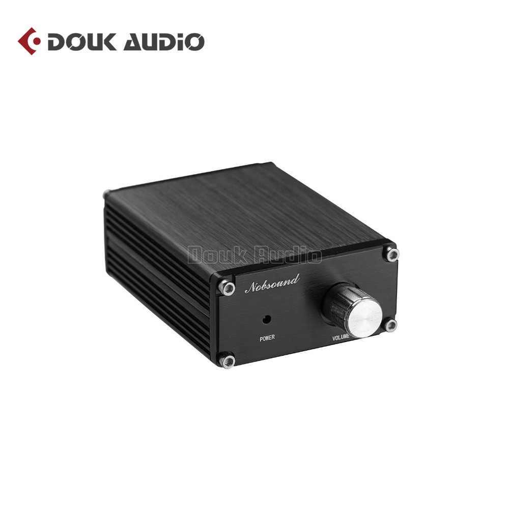 2018 New Nobsound Hi-Fi 100W Mini TPA3116D2 Subwoofer Power Audio Amplifier Mono Channel Audio Amp Black/Gray