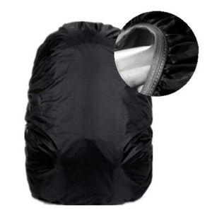 محظوظ القرع 2017 جديد الجملة 70 L الأسود على ظهره حقيبة غطاء للمطر غطاء مقاوم للماء الأسود حزمة زينة شحن مجاني