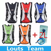 Hydration camelback Bicycle Camping Hiking Climbing Hunt Rucksack Outdoor Sport Bike Backpack + 2L TPU Camping Hiking water Bag