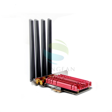 Двухдиапазонный AC1900 Broadcom BCM94360 беспроводной 802.11AC wifi адаптер настольный wifi карта с разъемом PCI Express для Mac OSX + PC/Hackintosh Win10