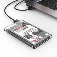 ORICO 2TB Mobile HDD Enclosure Case USB 3 0 To SATA HDD Hard Drive External Enclosure