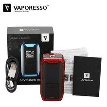 D'origine Vaporesso Vengeur Mod Cigarette Électronique Vaporisateur 220 W 510 Boîte Mod Compatible avec Vaporesso NRG Réservoir sans 18650 Cellulaire