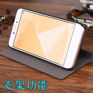 Image 4 - For Xiaomi Redmi 4X 4A Case Luxury Stander Wallet Flip PU Leather Cases For Xiaomi Redmi 3S 4 5 5PLUS Note 2 3 4 5 Note 5a 7