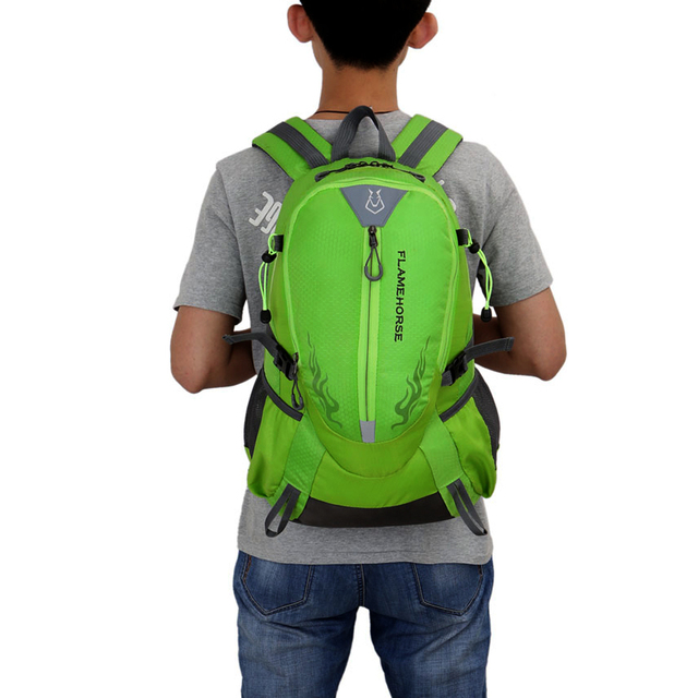 Waterproof Nylon Backpack Outdoor Sports Bag