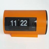 Relógio De Mesa Retro Auto Flip Clock 12 Horas AM/PM Relógio Formato de Exibição Relógio de Mesa Relógios de Virar a Página de Viragem