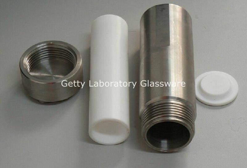 Reactor de autoclave de síntesis hidrotérmica con cámara de teflón 250 ml (personalizable)