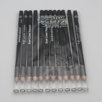 Free Shipping 12pcs Set Waterproof Liquid Eye Liner Brown Eyeliner Pencil Makeup Pen El03v Py