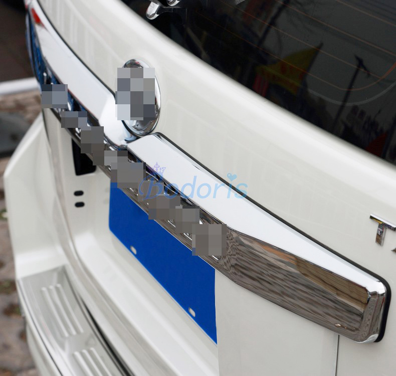 For Toyota Land Cruiser Prado LC150 FJ150 2014 2015 2016 2017 2018 Rear Trunk Steamer Trim