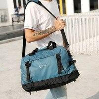 Yoga Mat Bag Waterproof Backpack Shoulder Sport Bag for Women Duffel Clothes Multi function Sports Gym Fitness Bag WX098