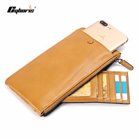CYBORIS Genuine Leather Case For Samsung Galaxy S7 S7 Edge Wallet Purse For Samsung Galaxy S6