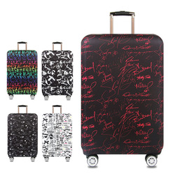 suitcase elastic protective cover luggage cover travel accessories 18 to 32 inch travel trolley suitcase case dust cover