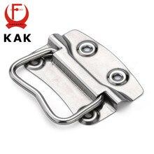 KAK-J203 uchwyt do szafki drewniane przypadku gałki skrzynki na narzędzia uchwyty ze stali nierdzewnej szuflada kuchenna ciągnąć do sprzęt meblowy