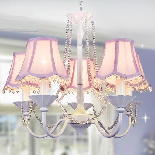 6 korean princess room white living room chandelier crystal chandelier lamp bedroom lamp idyllic - Lampadario camera da letto ragazza ...
