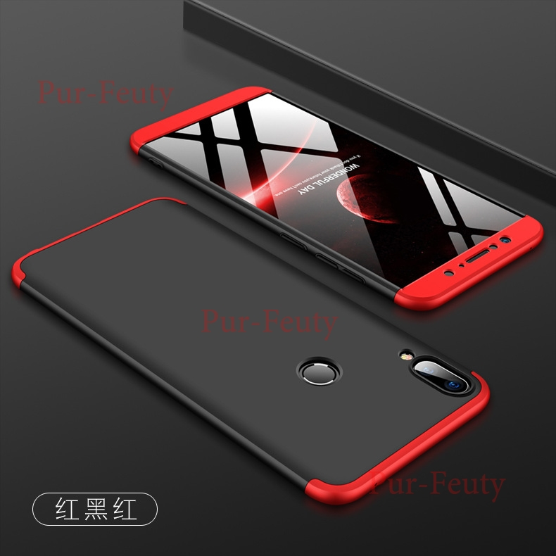 Case For <font><b>Asus</b></font> <font><b>Zenfone</b></font> <font><b>Max</b></font> <font><b>Pro</b></font> M2 ZB631KL Hard 3 In <font><b>1</b></font> Matte Armor Hybrid Protect Slim Back Cover For <font><b>Asus</b></font> ZB631KL <font><b>360</b></font> Full Cover image