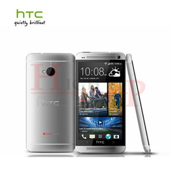 100% Original Unlocked HTC ONE M7 Android Smartphone 32GB ROM 4.7inches GPS 3G Dual camera 8MP WIFI Free shipping Refurbished 2