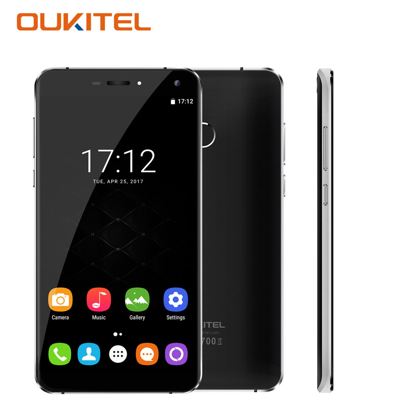 U11 Plus Fingerprint 5.7''Android 7.0 RAM 4GB ROM 64GB Octa Core 4G Unlocked Oukitel U11 Plus android 7.0