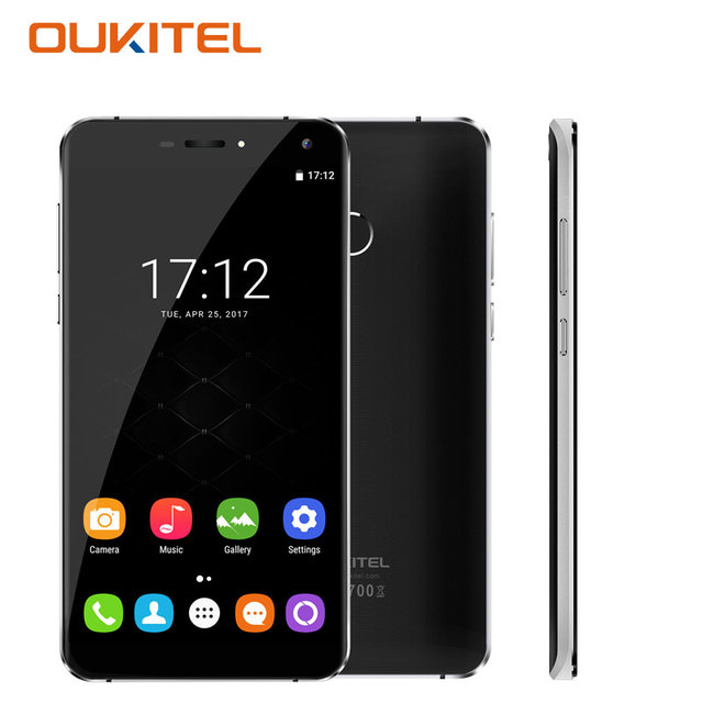 Oukitel U11 Plus Smartphone Fingerprint 5.7''Android 7.0 RAM 4GB ROM 64GB Octa Core Telefone Celular 3G Unlocked Cell Phones