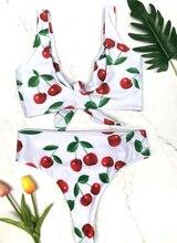 Floral High Waist Bikini Sexy Print Bikini Set