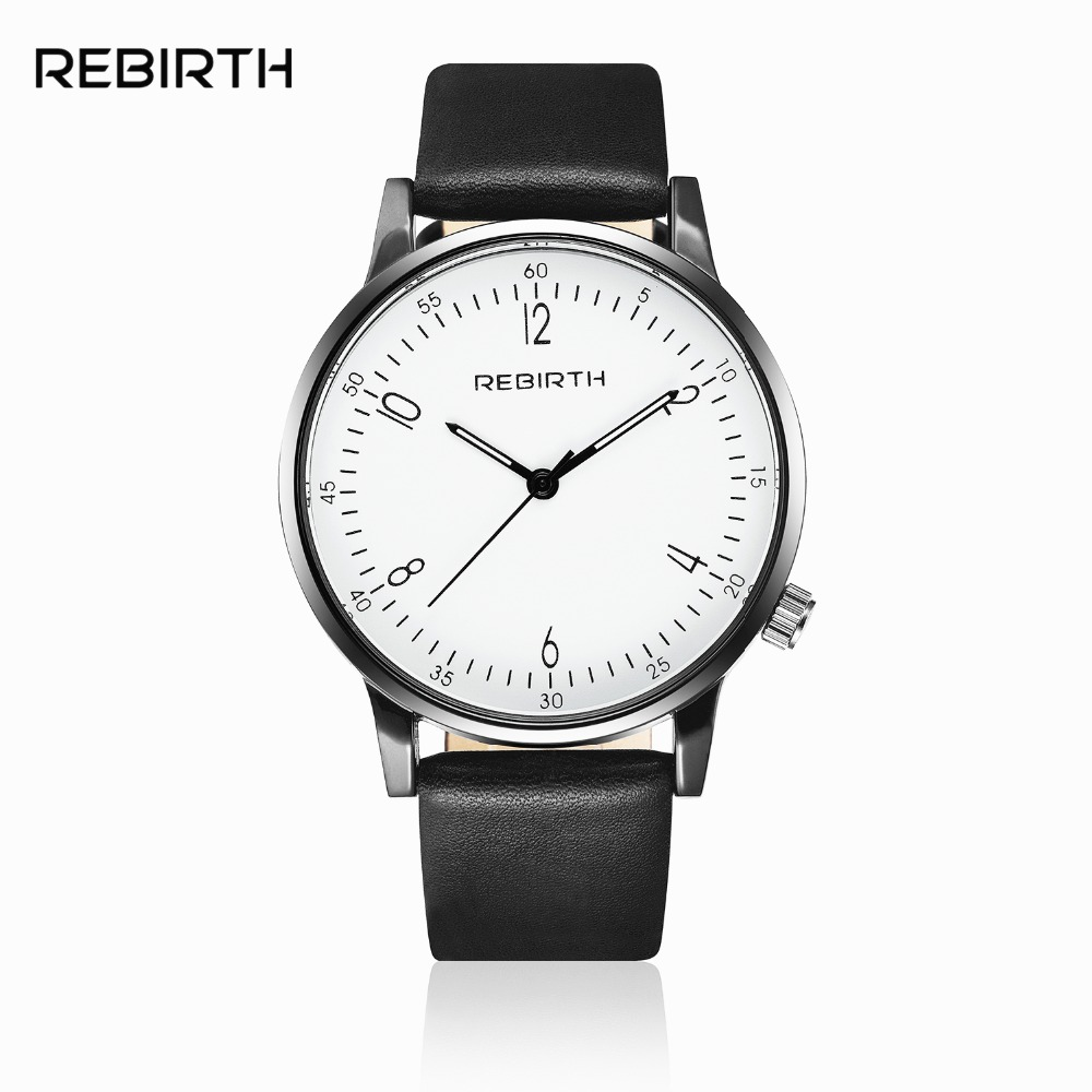 Black White Fashion Casual Waterproof Watch Men Lady Lovers Gift Watch Clock(China)