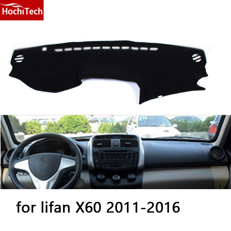 Realistic Hochitech For Lifan X60 2011-2016 Dashboard Mat Protective Pad Shade Cushion Photophobism Pad Car Styling Accessories Profit Small Car Stickers