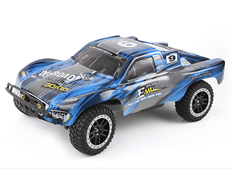 1/10 HQ Brushless 2.4G 4WD RC Electric Radio Control Racing Truck