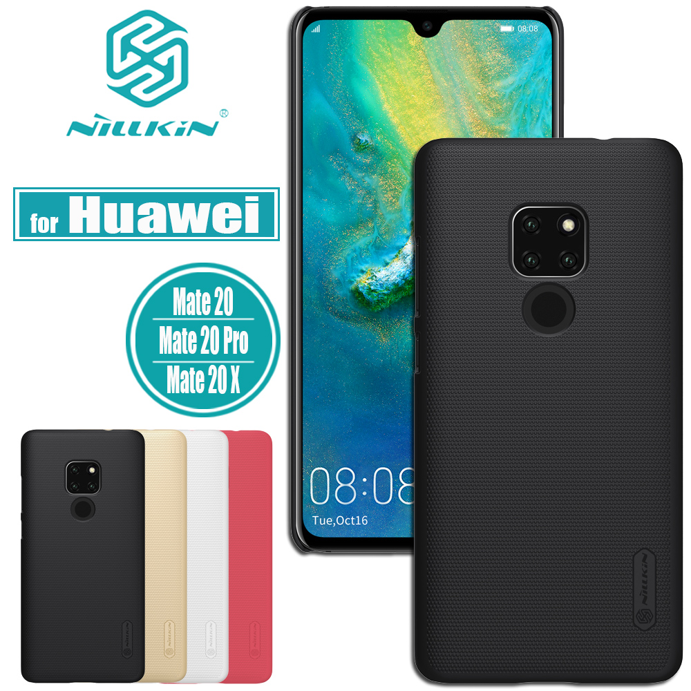Nillkin for Huawei Mate 30 20 Pro Case Frosted Matte Shield Hard PC Back Protevtive Shell Cover for Huawei Mate30 Mate20 Case