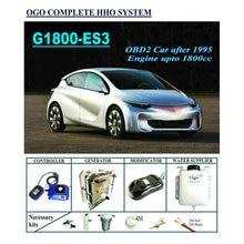OGO komple HHO sistemi G1800 ES3 akıllı PWM çip kadar 1800CC