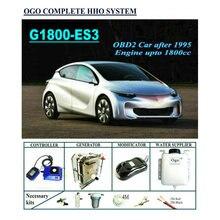 Ogo Completo Sistema Hho G1800 ES3 Smart Chip Pwm Fino a 1800CC