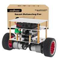Kit de voiture Robot auto-équilibrant à deux roues OSOYOO RC pour Kit de démarrage éducatif bricolage OSOYOO, télécommande Bluetooth par Android