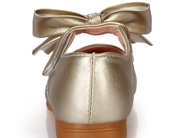 Printemps filles chaussures en cuir princesse appartements enfants chaussures filles baskets mignonnes pour les filles en bas âge formateurs 6079240 - 3