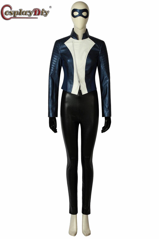 Косплэй diy флэш сезон 5 Iris West костюм супергероя Хэллоуин кожаная куртка наряд Iris West костюмированная маска для глаз