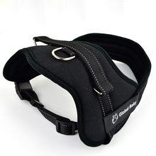 High Quality Soft Adjustable Protection Reflective Large Pet Vest Strap Medium Big Dog Harness and Matched Leashes