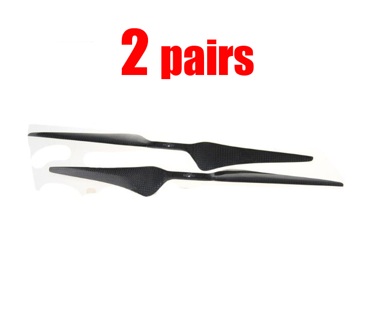 Free Shipping 2pairs 1555 Carbon fiber propellers 15*5.5 inch CW CCW dragonfly props for RC kvadrokopter Multicopter 14 x 4 7 carbon fiber cw ccw propellers for r c quad copter black 2 pairs