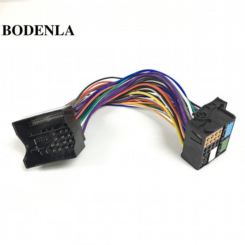 Bodenla Improve Quadlock Extension Adapter Cable For Audi A4 A6 Skoda Seat Opel Bmw Vw Golf Vi Jetta 5 6 Mk5 Mk6 Passat B6
