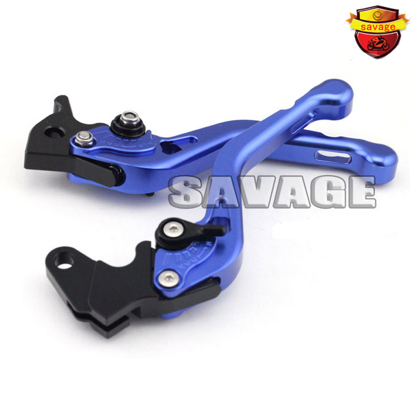 ФОТО For YAMAHA XT660R / XT660X 2004-2013 Blue Motorcycle Accessories CNC Aluminum Short Brake Clutch Levers