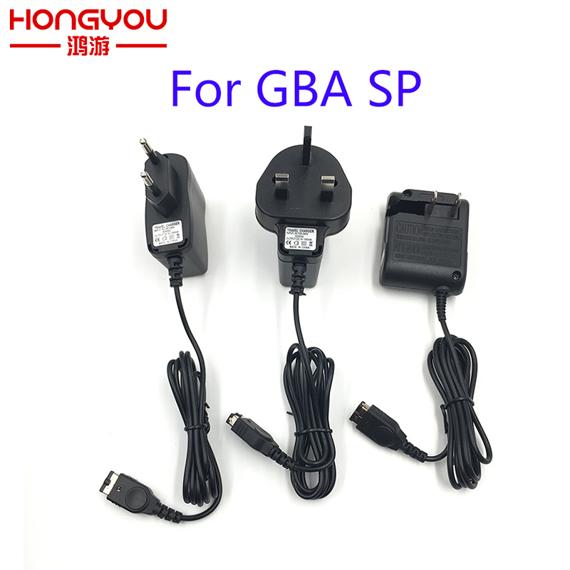 EU US UK AC Home Wall Power Supply Charger Adapter Cable For Nintendo DS NDS GBA SP