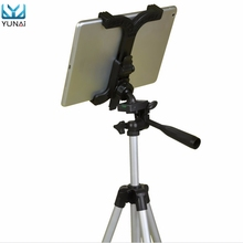 "YUNAI ABS Tablet Mount Holder Stand Bracket Clip Accessories For 7-11"" Tablet For iPad Self-Stick Tripod Mount Stand Holder"