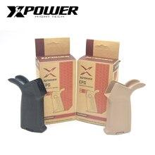 XPOWER MOE Grip Airsoft AEG żelowy Blaster dla MOE skrzynia biegów odbiornik Paintball akcesoria M4 Nylon taktyczny