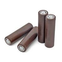 1/2/4/6/8/10 Pcs New INR18650-HG2 3.7 V 20A 3000mAh Flat 18650 Li-ion Batteries For Torch Headlamp Flashlight Battery Replace 4