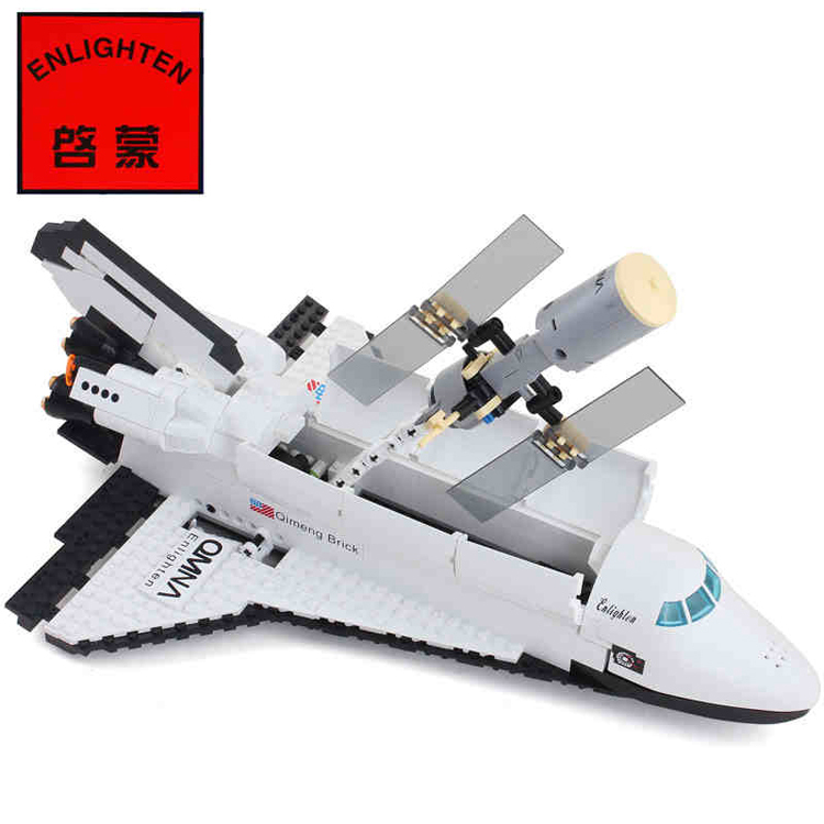 Enlighten Space Series Shuttle Initiation Building Blocks Hot Toy Boy Bricks Children Model Kits - C&T Toys store