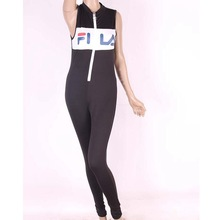 #1726 One piece Black jumpsuit women 2017 Body feminino Catsuit Women rompers Fitness Black jumpsuit long Sexy club jumpsuits